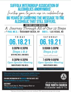 A Journey Through All of Our 12 Steps Live & Online @ True North Community Church